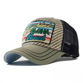 Topi Baseball Snapback Hawaii Island - Gray