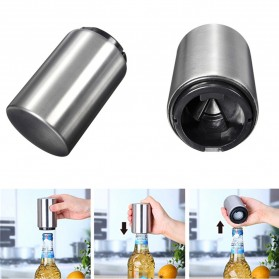 Automatic Bottle Opener - Silver