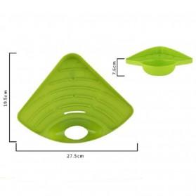 Tatakan Sabun Wastafel Serbaguna - Green - 6