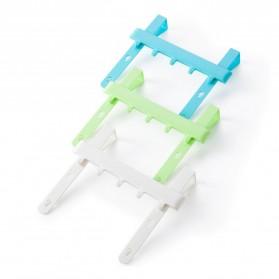 Rak Gantungan Peralatan Dapur model Hook - Blue - 4