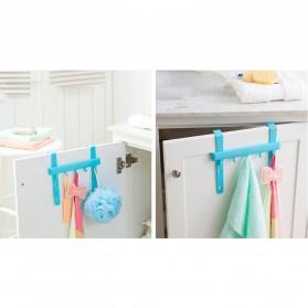 Rak Gantungan Peralatan Dapur model Hook - Blue - 6