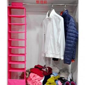 Rak Gantungan Baju Sepatu 9 Layer - Rose