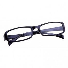 Kacamata Baca Lensa Plus 3.0 - Black