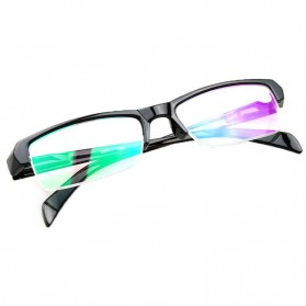 Kacamata Baca Lensa Minus 1.0 - Black