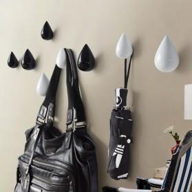 Gantungan Dinding Model Water Droplet - Black