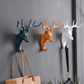 Gantungan Dinding Model Deer Head - White