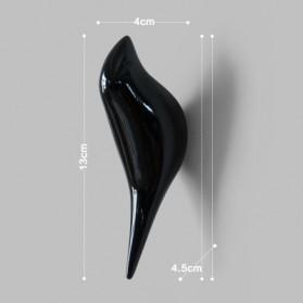 Gantungan Dinding Model Burung - Black