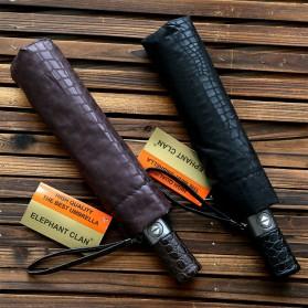 Payung Desain Elegan Motif Kulit Ular - Black - 4