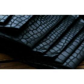 Payung Desain Elegan Motif Kulit Ular - Black - 7
