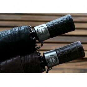 Payung Desain Elegan Motif Kulit Ular - Black - 8