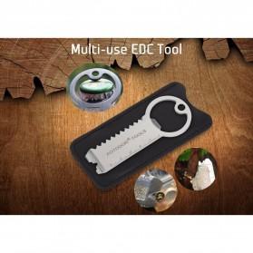 AOTDDOR Multi Tools EDC Gantungan Kunci Multifungsi - V3V95 - Silver - 6