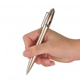 EDC Tactical Pen Self Defense - Black - 4