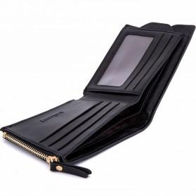 Baborry Dompet Kulit Klasik Pria - Black - 2