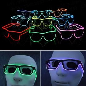 LISM Kacamata DJ Glow LED EV400 - JYJR0145 - Yellow - 2