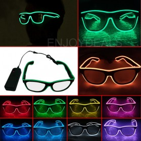 LISM Kacamata DJ Glow LED EV400 - JYJR0145 - Yellow - 3
