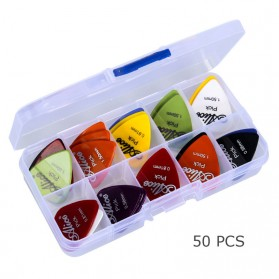 Alice Pick Gitar Akustik 50 PCS - A011A - Multi-Color