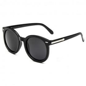 Kacamata Hitam Vintage UV400 - 1217 - Black/Gray