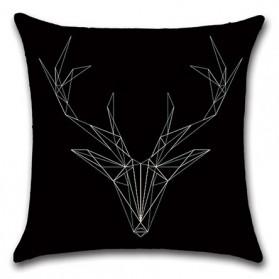 Sarung Bantal Kursi 45 x 45 CM Model Deer Head