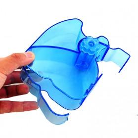 Dispenser Roll Kapas - Blue - 8
