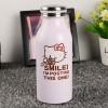 Botol Minum Stainless Steel Hello Kitty 350ml - Model A - Pink