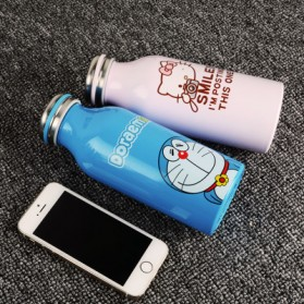 Botol Minum Stainless Steel Hello Kitty 350ml - Model A - Pink - 5