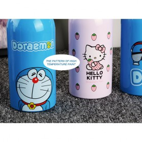 Botol Minum Stainless Steel Hello Kitty 350ml - Model A - Pink - 8
