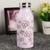 Botol Minum Stainless Steel Hello Kitty 350ml - Model C - Pink