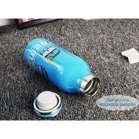 Botol Minum Stainless Steel Hello Kitty 350ml - Model C - Pink - 7