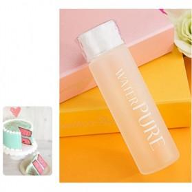 Botol Minum Kaca 350ml - White