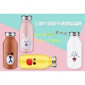 Botol Minum Stainless Steel Belen 350ml - Black - 2