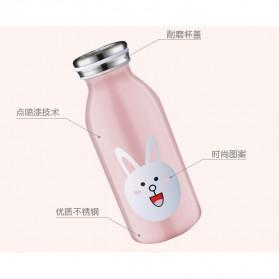 Botol Minum Stainless Steel Belen 350ml - Black - 4