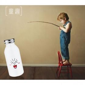 Botol Minum Stainless Steel Belen 350ml - Black - 5
