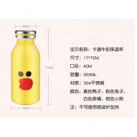 Botol Minum Stainless Steel Belen 350ml - Black - 6