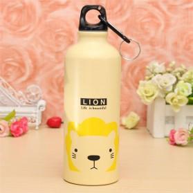 Botol Minum 500ml (14 DAYS) - Cream