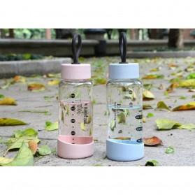 Botol Minum Kaca 320ml - FQ-B751 - Blue - 6