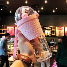 Botol Minum Shaker - Pink