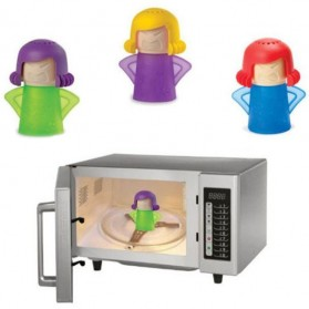 Angry Mama Microwave Steam Cleaner - Multi-Color