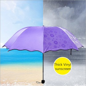 Payung Lipat Anti UV - JJ57543 - Blue - 2
