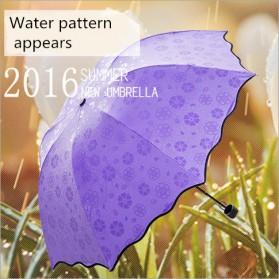 Payung Lipat Anti UV - JJ57543 - Blue - 3