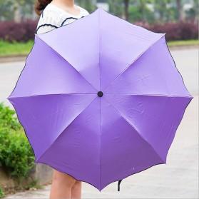 Payung Lipat Anti UV - JJ57543 - Blue - 4