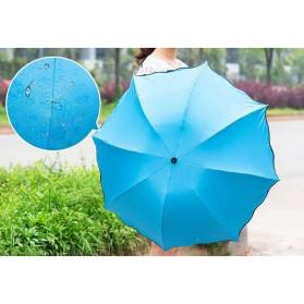 Payung Lipat Anti UV - JJ57543 - Blue - 8