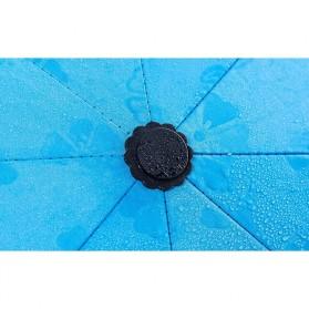 Payung Lipat Anti UV - JJ57543 - Blue - 9