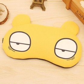 Sleeping Mask Model Kartun - Yellow