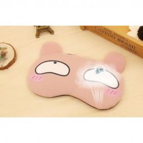 Sleeping Mask Model Kartun - 10Q22 - Pink - 3