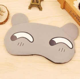Sleeping Mask Model Kartun - 10Q22 - Gray