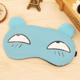Sleeping Mask Model Kartun - Blue