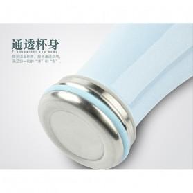 Giuai Botol Minum Stainless Steel 500ml - Pink - 6