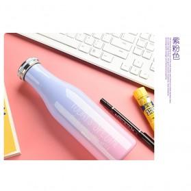 Giuai Botol Minum Stainless Steel 500ml - Blue - 8