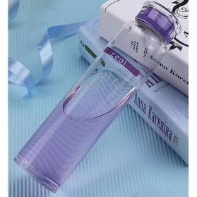 Botol Minum Glass Crystal 420ml - Purple