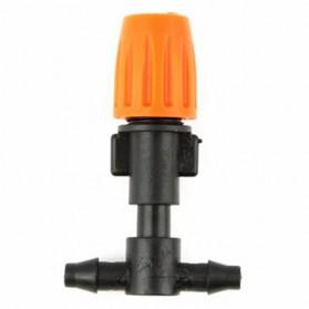 Mist Sprinkler dengan 2 Nozzle Selang - FD351A - 1PCS - Orange